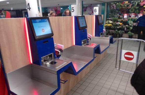 Lees meer over Self Check-Out (SCO) oplossing van Toshiba Tec live bij DEEN Supermarkten
