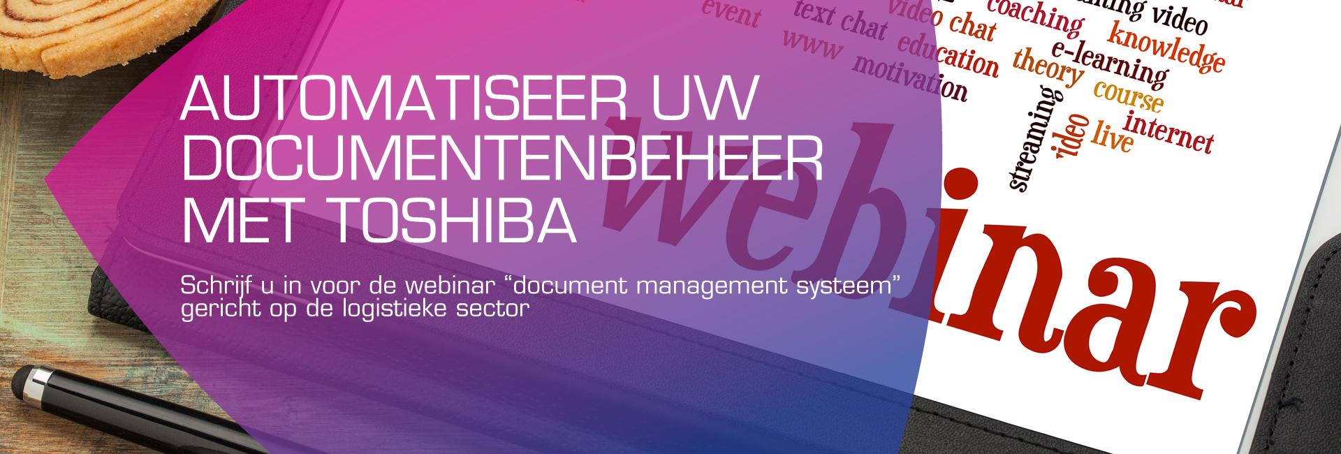 Webinar document management systeem