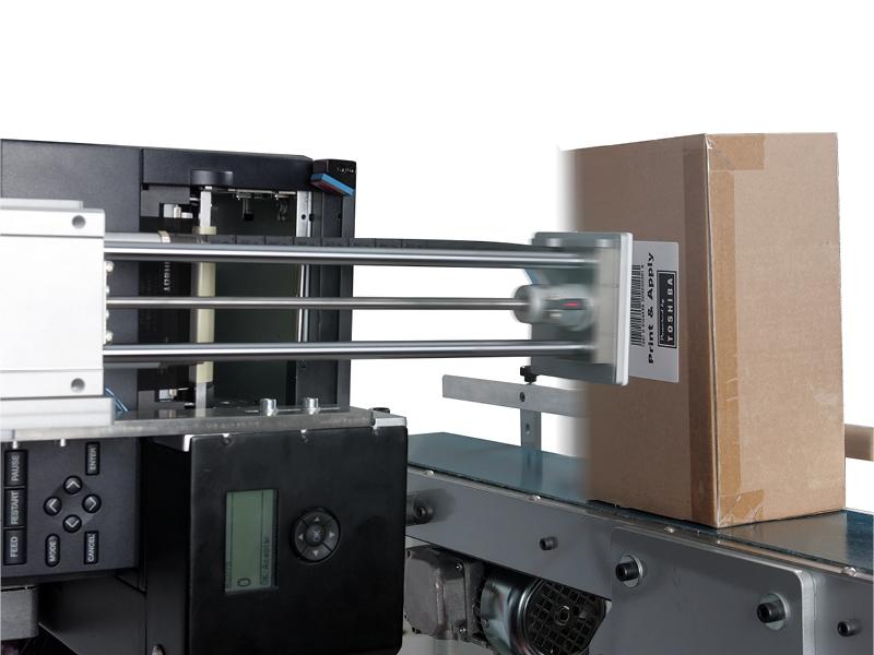 APLEX4 labelapplicator   Automatiseer het labelproces in de productieomgeving, automatisch proces van print & apply