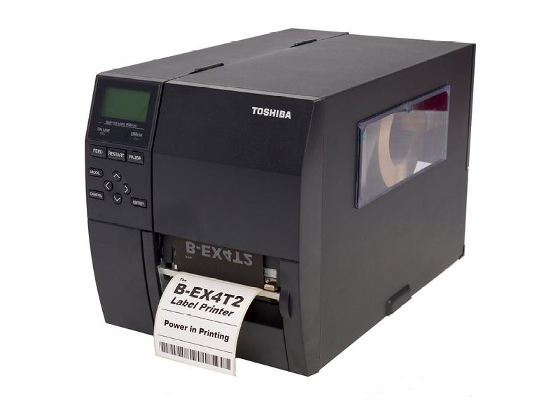 B-EX4T2 van Toshiba | Betaalbare en krachtige industriële barcode printer