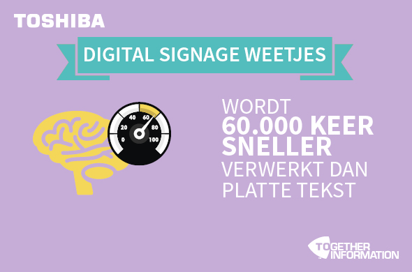 digital signage weetjes