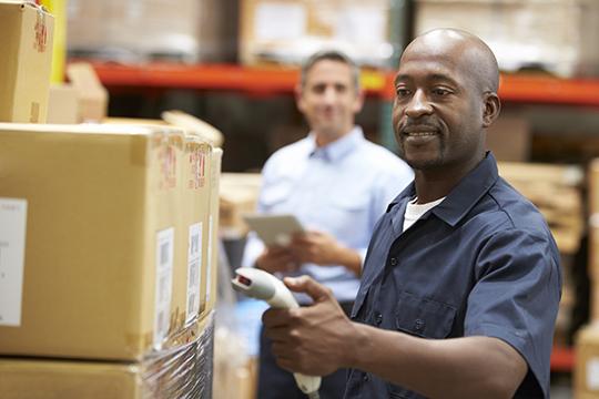 Automatiseer het logistieke proces met RFID