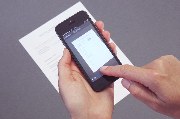 scannen vanaf een mobile device