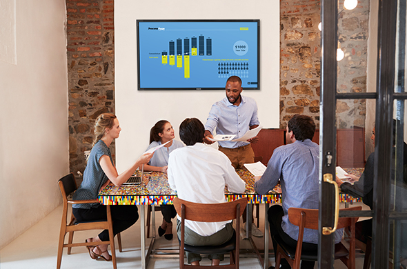 Presentatieschermen