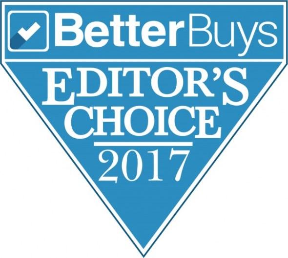 De Eco-Hybride van Toshiba wint de Better Buys Editor's Choice Award