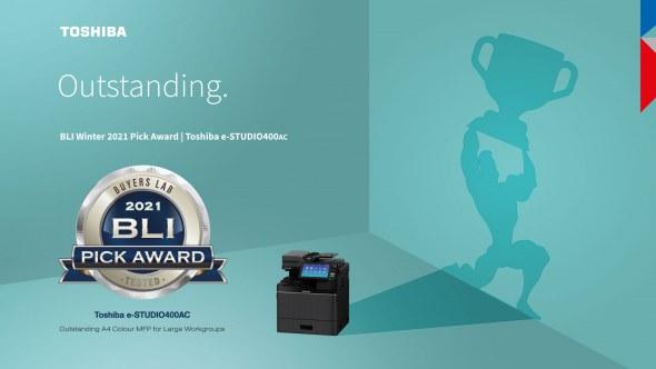 Lees meer over A4-serie bekroond met twee Buyers Lab 2021 Winter Pick Awards van Keypoint Intelligence