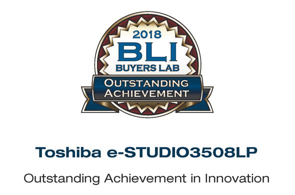 Toshiba's Eco Hybride MFP wint BLI's