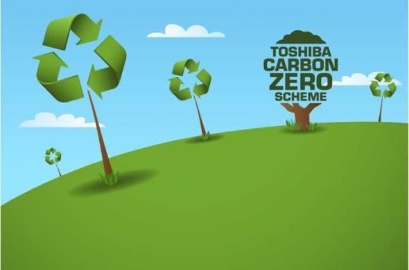 Lees meer over Toshiba bereikt met haar innoverende CO2-neutraal programma een mijlpaal