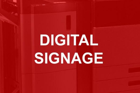Digital signage voor de kantooromgeving. Communiceer met je doelgroep en collega's waar en wanneer je wilt. Beheer de bedrijfscommunicatie vanaf één veilig platform met de oplossingen van Toshiba.