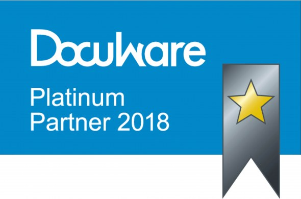 Toshiba Tec ook in 2018 Platinum Partner DocuWare