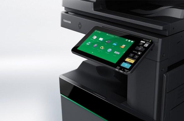Toshiba Tec presenteert 's werelds eerste multifunctionele printer met uitwisbare toner