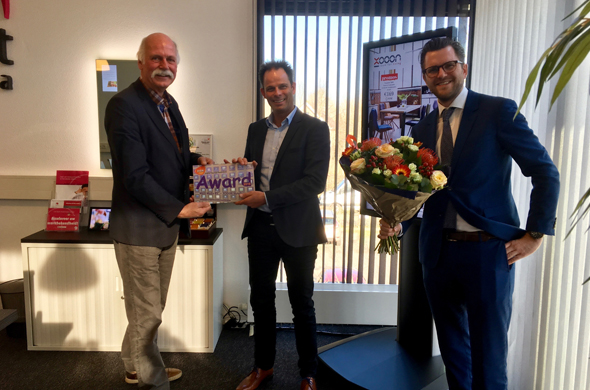Merit Media wint DiSin Award 2016