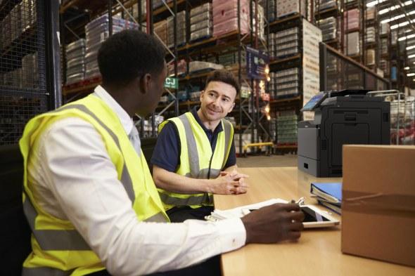 Toshiba in de logistieke sector