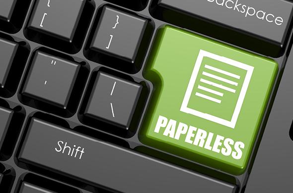 5 tips voor een papierloos kantoor