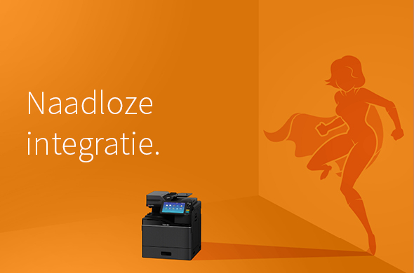 Toshiba A4 multifunctionele printer - naadloze integratie