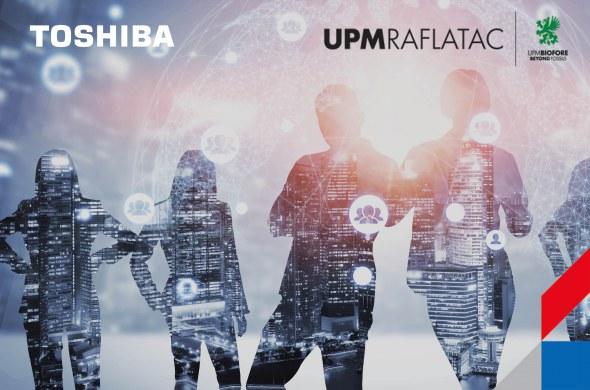 Toshiba en UPM Raflactac werken samen aan het perfecte resultaat voor linerless printing