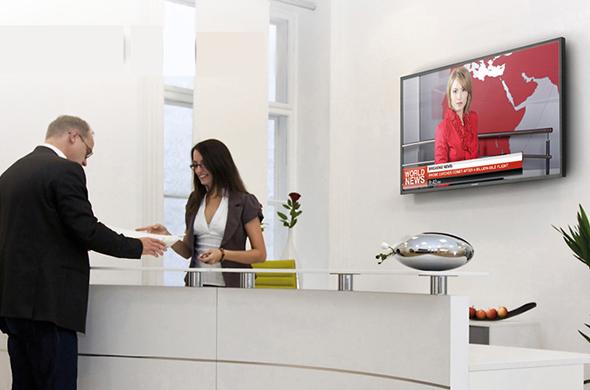 Digitale schermen voor de zorg