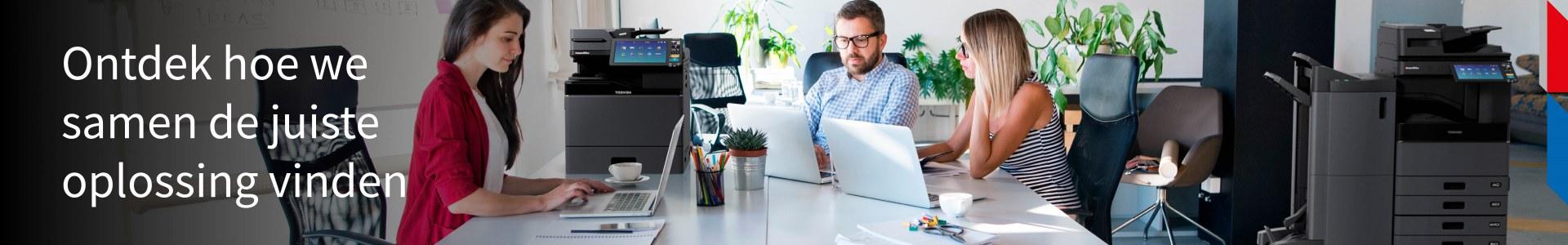 Business Services. Ontdek wat Toshiba kan doen voor je organisatie. Schaalbare oplossingen, product- en servicesupport op één plek