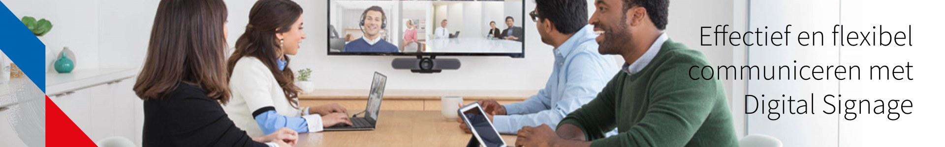 Digital Signage, Narrow casting specifiek voor kantooromgevingen