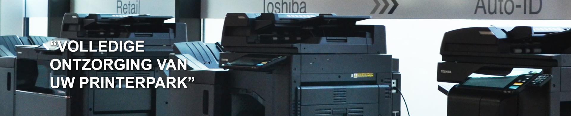 Volledige ontzorging van uw printerpark